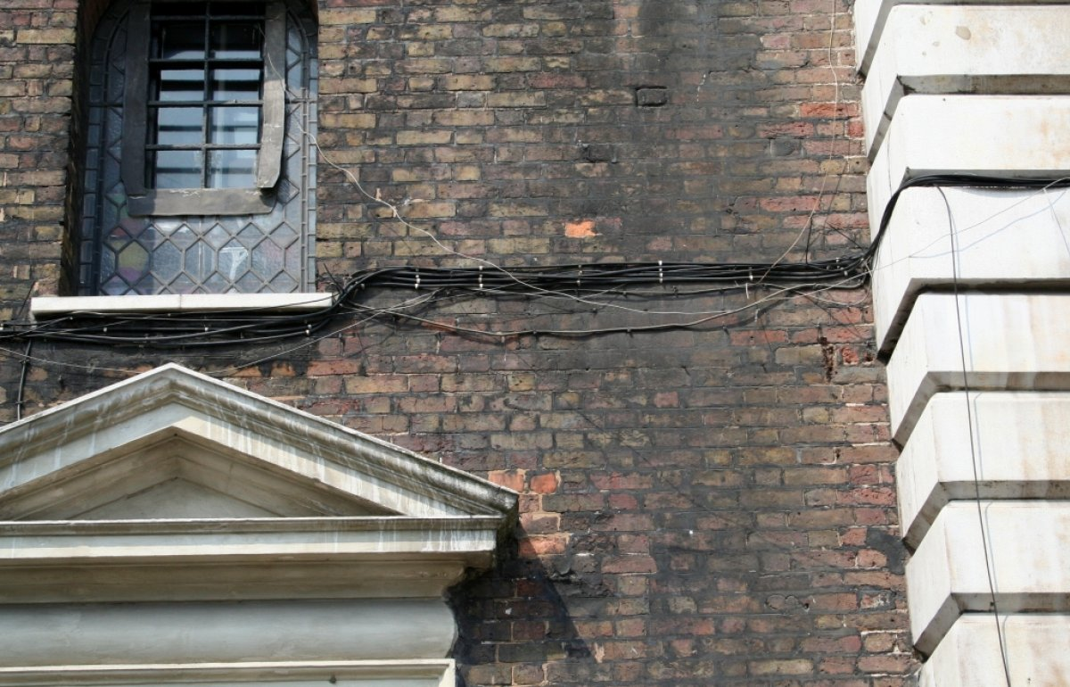 Alterations And Extensions To Listed Buildings Wiring In Brick Wall Guidance On Telecommunications Installations Churches